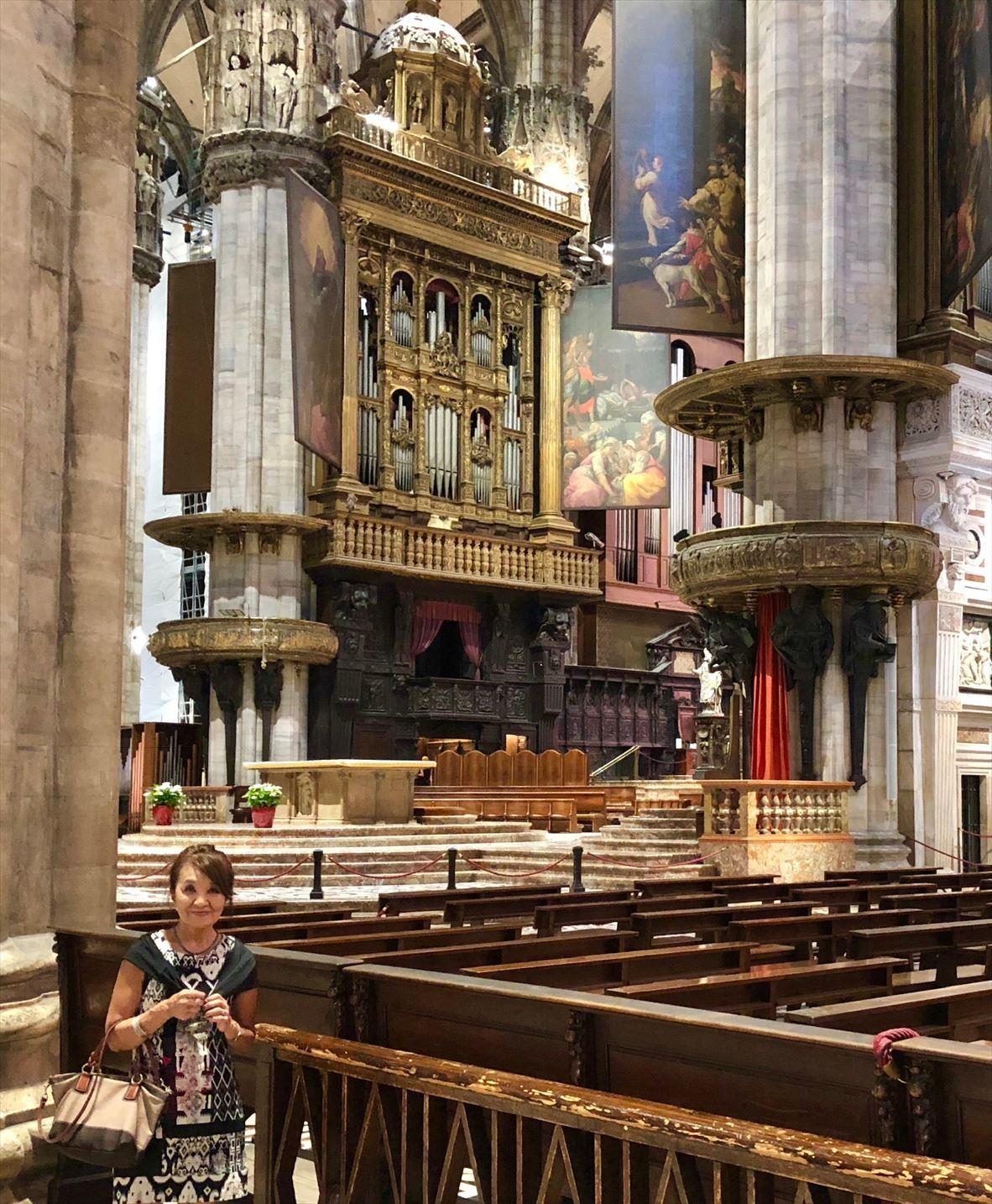 シチリア/44  荘厳なミラノ大聖堂 Ⅱ_a0092659_19105489.jpg