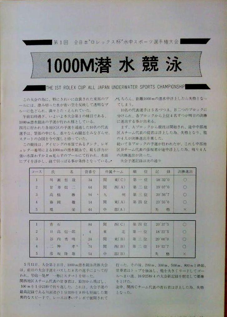 0317 ダイビングの歴史 55 ブルーゾーン ロレックス杯 2_b0075059_13023274.jpg