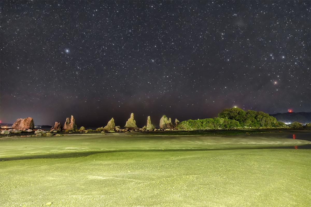 橋杭岩と夏の天の川 3月9日 _d0362961_18522739.jpg