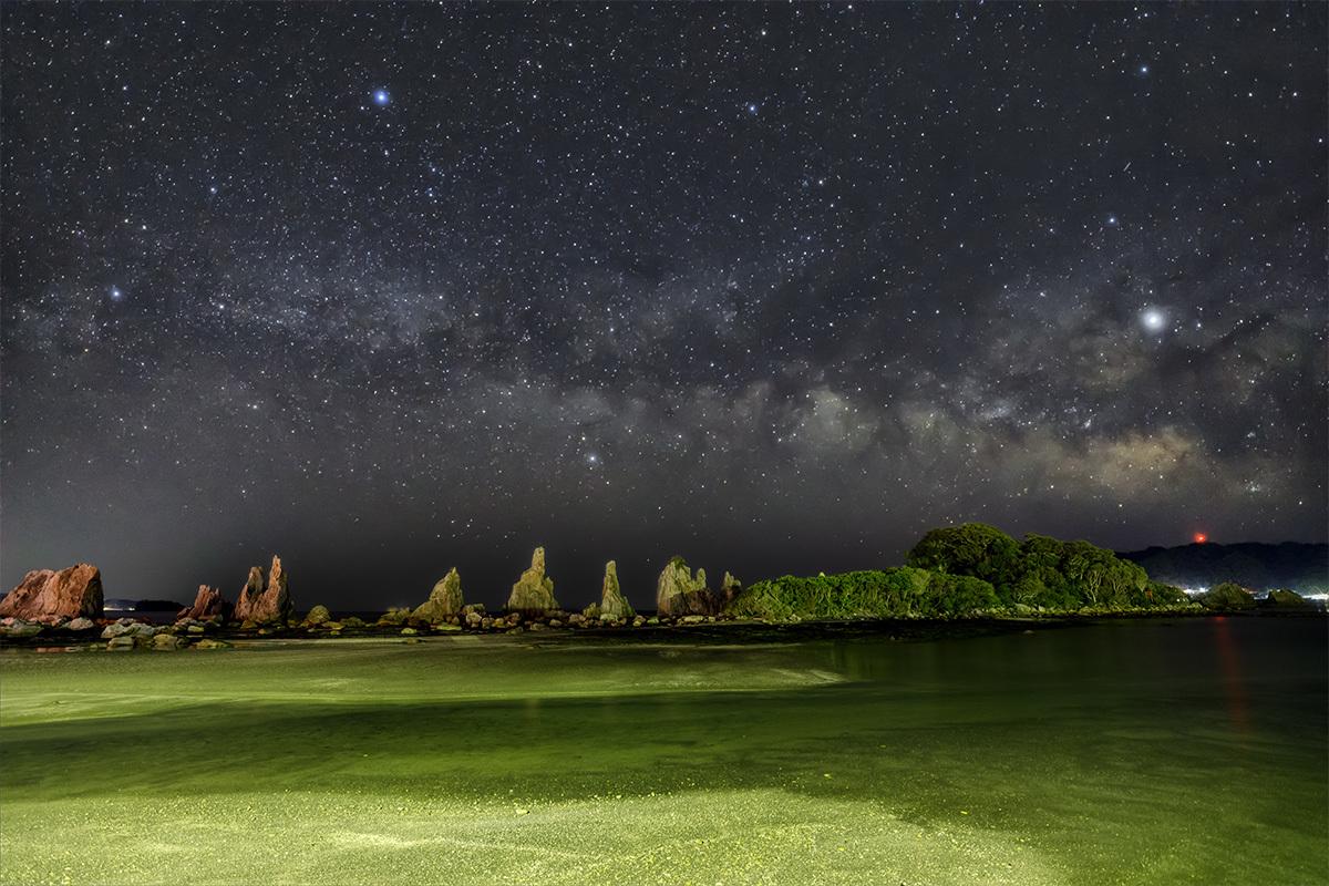 橋杭岩と夏の天の川 3月9日 _d0362961_18524007.jpg