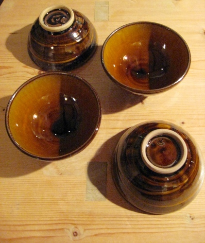 小石原焼 マルダイ窯のご飯茶碗いろいろ_b0153663_19005430.jpg