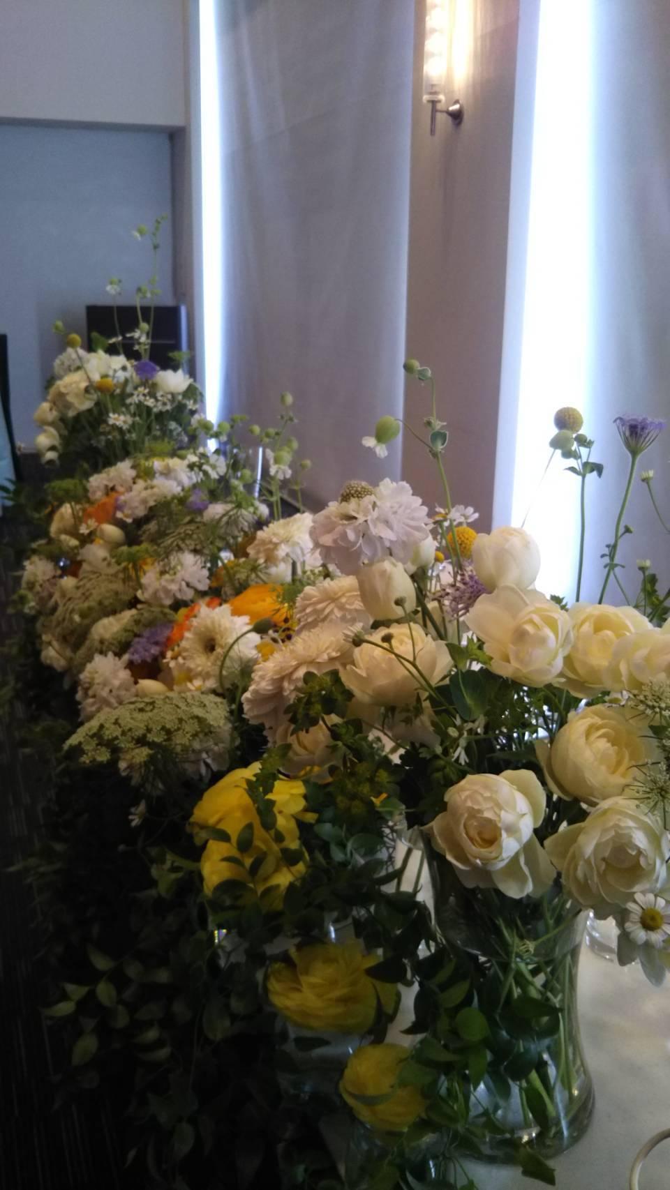 〜週末の婚礼から〜♬_b0094378_21050397.jpeg