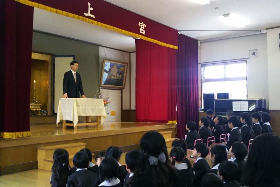 第二幼稚園の「卒園式・修了式」でした。_d0353789_09375616.jpg