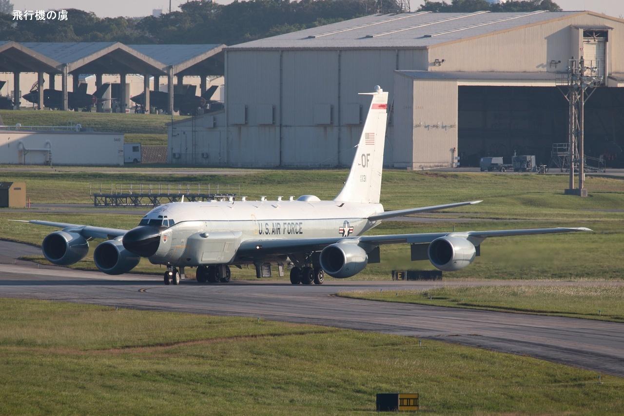 輝く横顔  RC-135  アメリカ空軍_b0313338_00332130.jpg