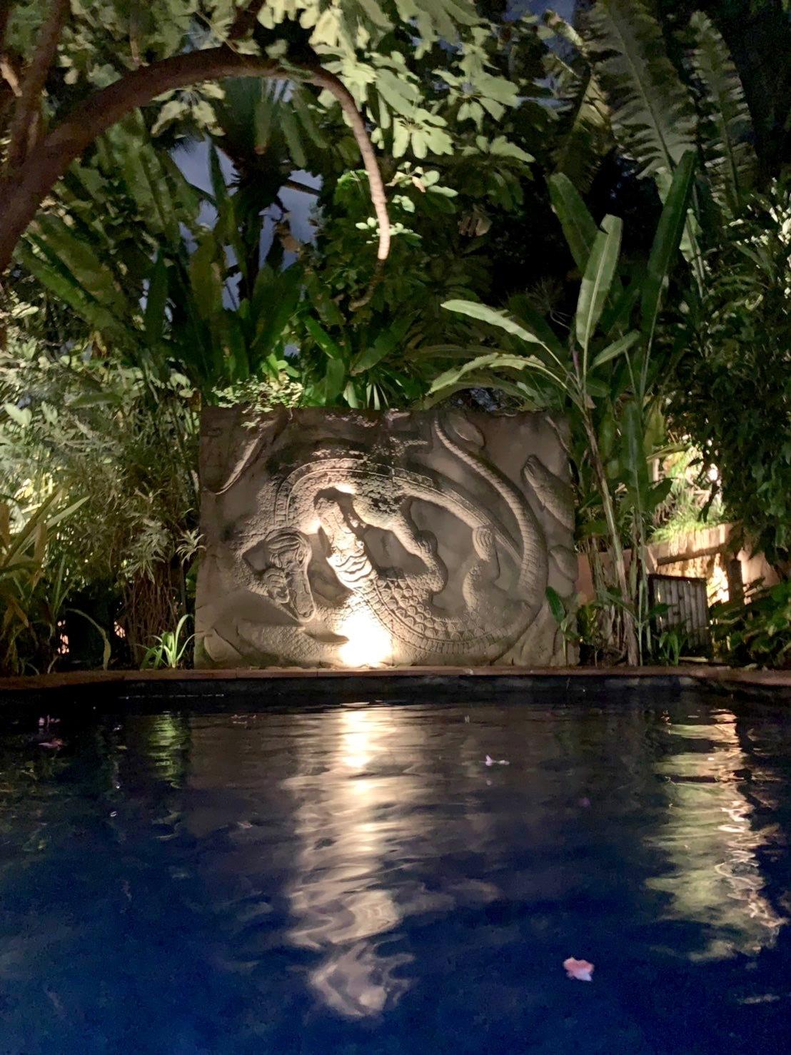 ホテルでプールを楽しむ_b0325640_21301614.jpg