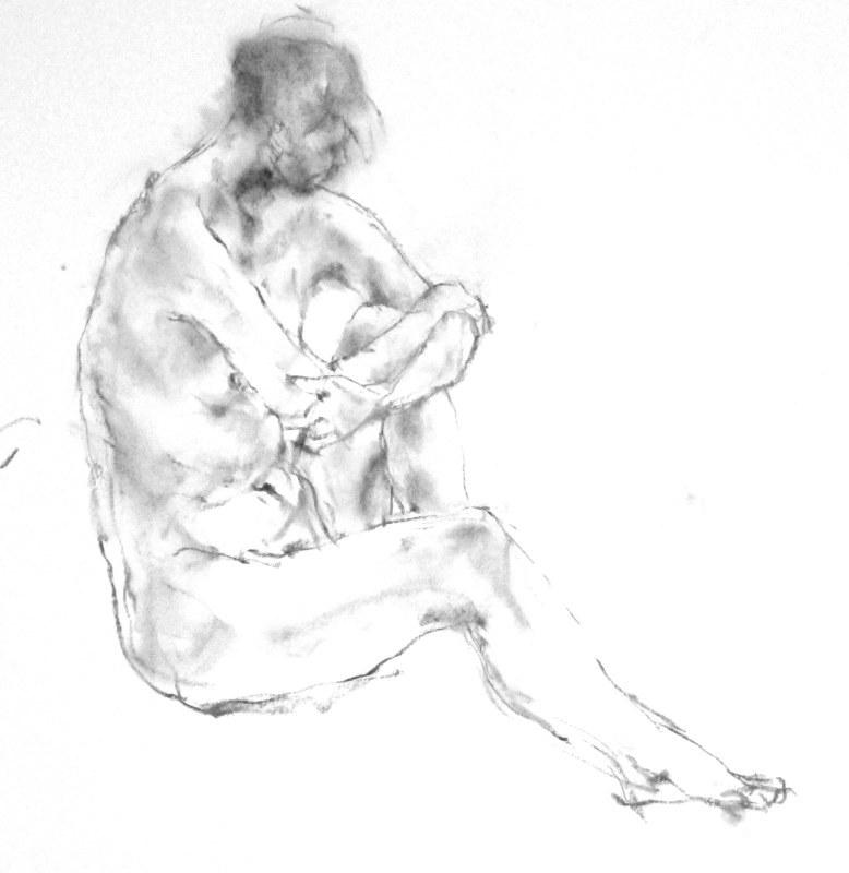 《 弥生三月裸婦素描 8 》_f0159856_06295340.jpg