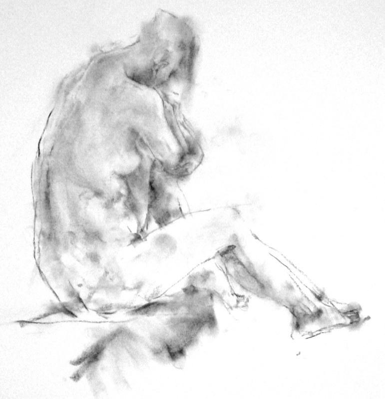 《 弥生三月裸婦素描 9 》_f0159856_06361986.jpg