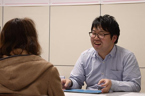 体験デッサンと受験相談会が行われました。_f0227963_10473585.jpg