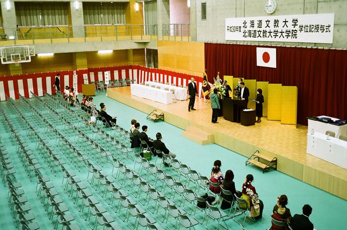大学卒業式典事前練習_c0182775_1654585.jpg