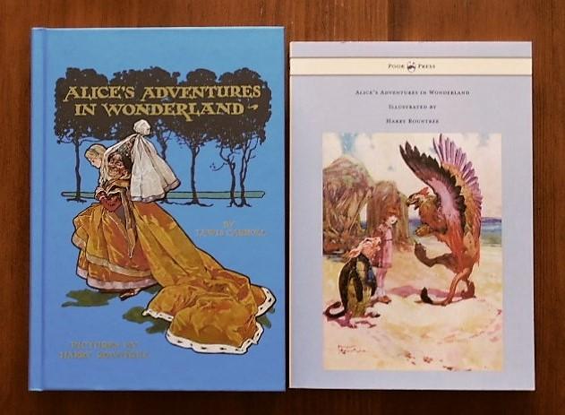 Book:Harry Rountree画の「不思議の国のアリス」_c0084183_10505928.jpg