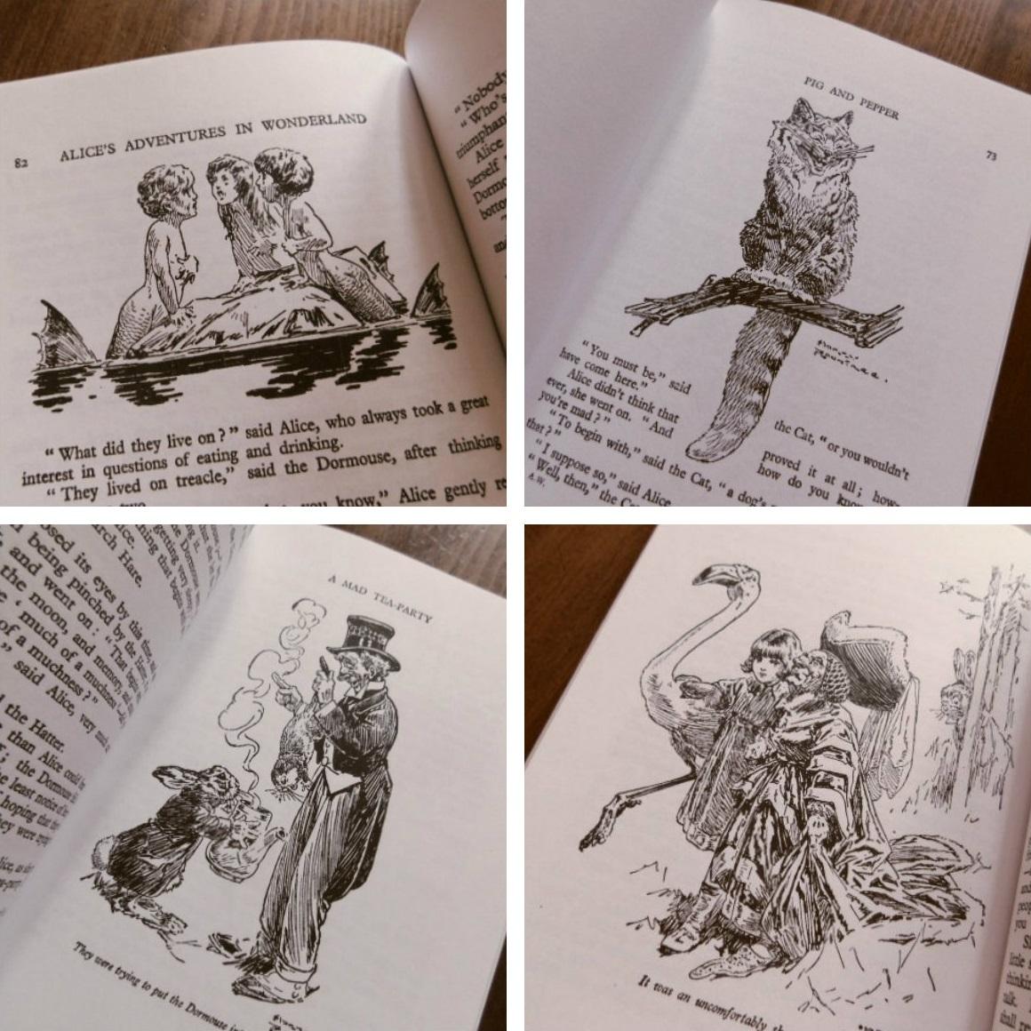 Book:Harry Rountree画の「不思議の国のアリス」_c0084183_1111986.jpg