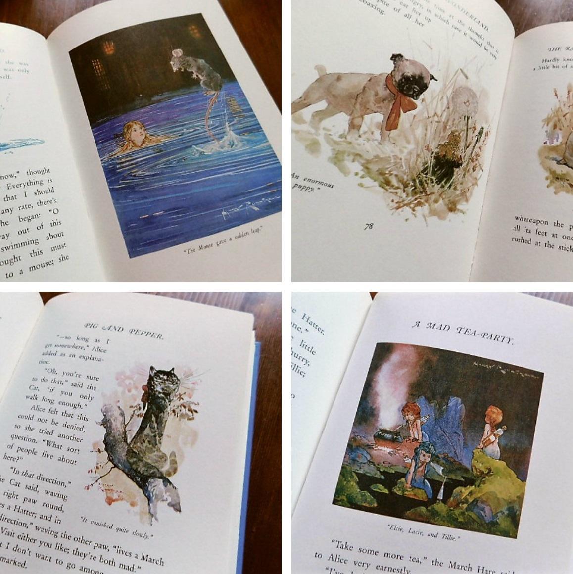 Book:Harry Rountree画の「不思議の国のアリス」_c0084183_1151329.jpg