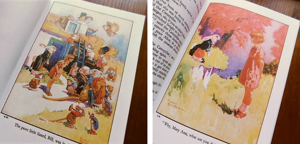 Book:Harry Rountree画の「不思議の国のアリス」_c0084183_1171818.jpg