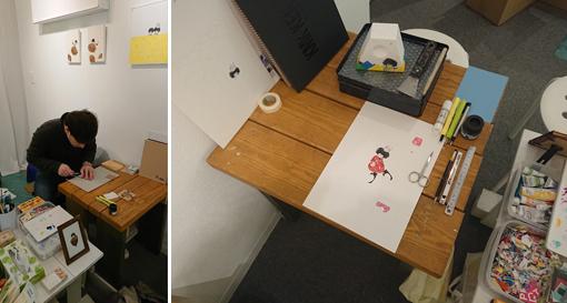 製作の現場‐作家の横顔 展終了しました。_c0282791_20263404.jpg