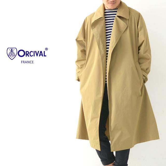 ORCIVAL[オーチバル・オーシバル] M\'s MEMORY CLOTH COAT[RC-8967 STW] ボタンレス チェスターコート・MEN\'S_f0051306_13180535.jpg