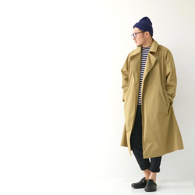 ORCIVAL[オーチバル・オーシバル] M\'s MEMORY CLOTH COAT[RC-8967 STW] ボタンレス チェスターコート・MEN\'S_f0051306_13181012.jpg
