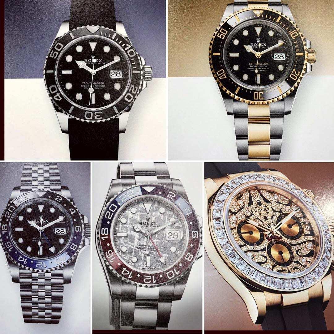 ロレックス2019バーゼル速報 (確認中) Rolex Baselworld 2019 - Rolex Street 6098 遊馬の機械式時計ブログ