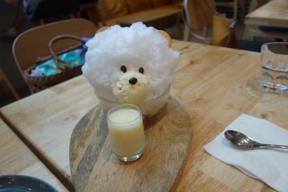 シンガポール2019 BARISTART COFFEEさんで可愛いかき氷_e0230011_17173037.jpg