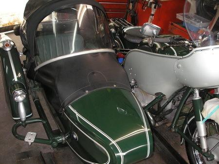 BMW  R69S改+TR500(エンジンを1000ccに乗せ換えています。公認済サイドカー)_e0218639_15451109.jpg