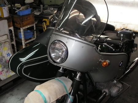 BMW  R69S改+TR500(エンジンを1000ccに乗せ換えています。公認済サイドカー)_e0218639_15451112.jpg