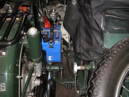 BMW  R69S改+TR500(エンジンを1000ccに乗せ換えています。公認済サイドカー)_e0218639_15451149.jpg
