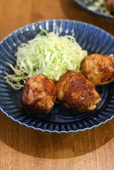 コロコロ豚焼きと葉わさびの味噌漬け_e0137277_21333086.jpg