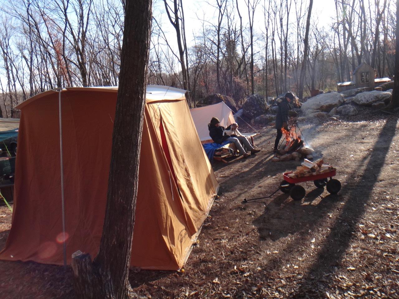 Kirkham\'s  tent    / テントポールは前もって・・・・・・_b0195093_12311480.jpg
