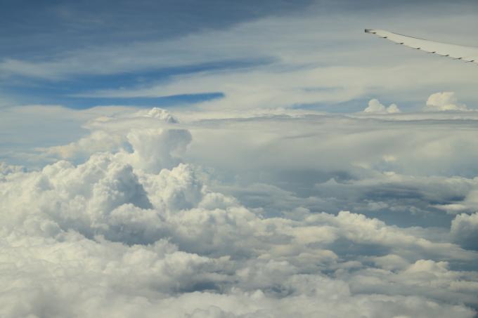 機内にて。マレーシア旅行  - 21 -_f0348831_11445403.jpg
