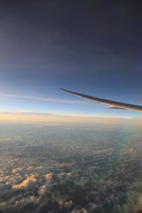 機内にて。マレーシア旅行  - 21 -_f0348831_11450128.jpg