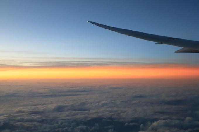 機内にて。マレーシア旅行  - 21 -_f0348831_11450428.jpg