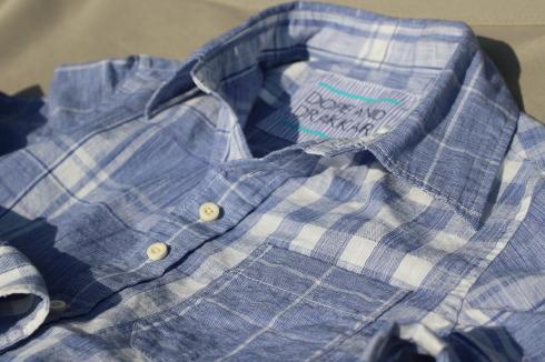 爽やかブルーのMIXシャツが出来上がりました♪_d0108933_19185169.jpg