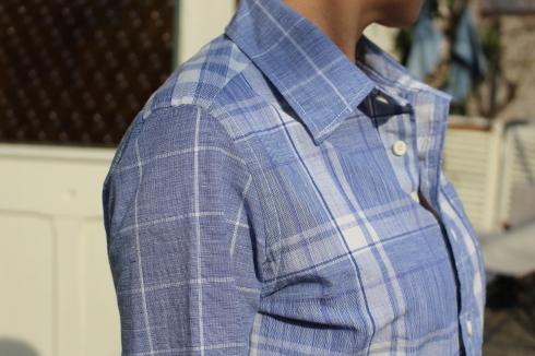 爽やかブルーのMIXシャツが出来上がりました♪_d0108933_19185596.jpg