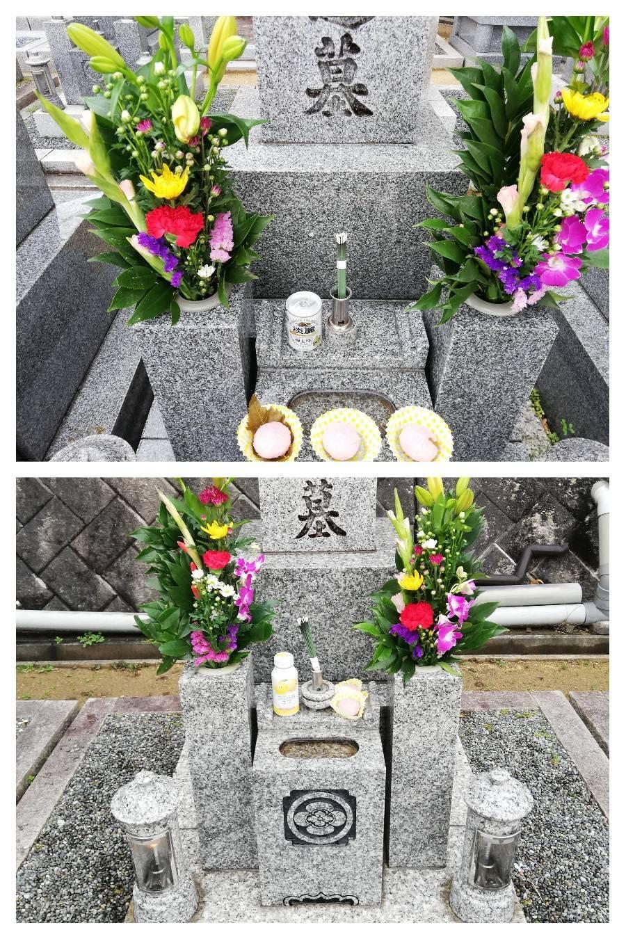 墓参り 映画 ホームパーティー_a0084343_18464574.jpeg