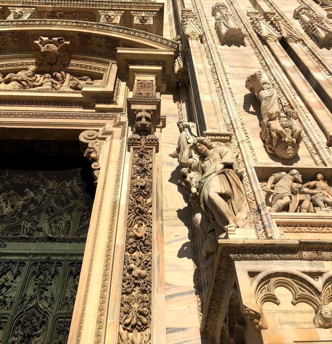 シチリア/ 45  荘厳なミラノ大聖堂 Ⅲ_a0092659_13415117.jpg