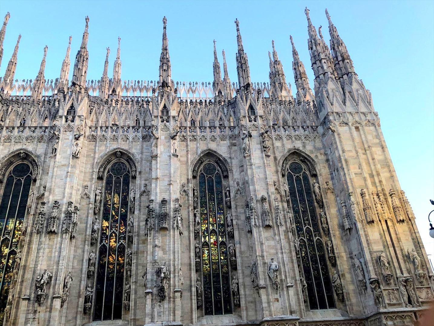 シチリア/ 45  荘厳なミラノ大聖堂 Ⅲ_a0092659_15282211.jpg