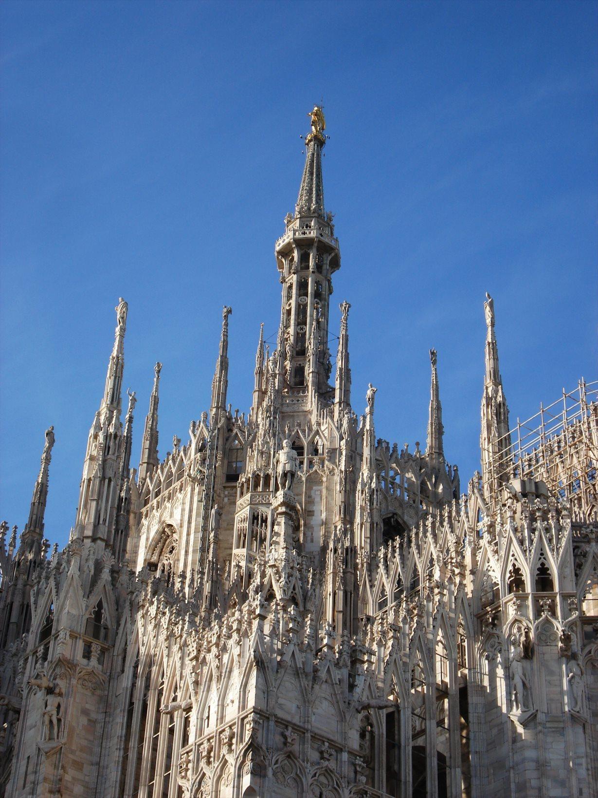 シチリア/ 45  荘厳なミラノ大聖堂 Ⅲ_a0092659_15344522.jpg