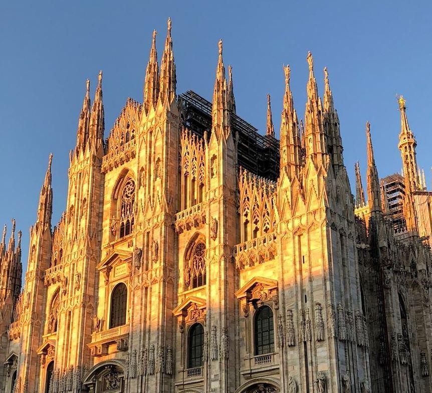 シチリア/ 45  荘厳なミラノ大聖堂 Ⅲ_a0092659_15403328.jpg