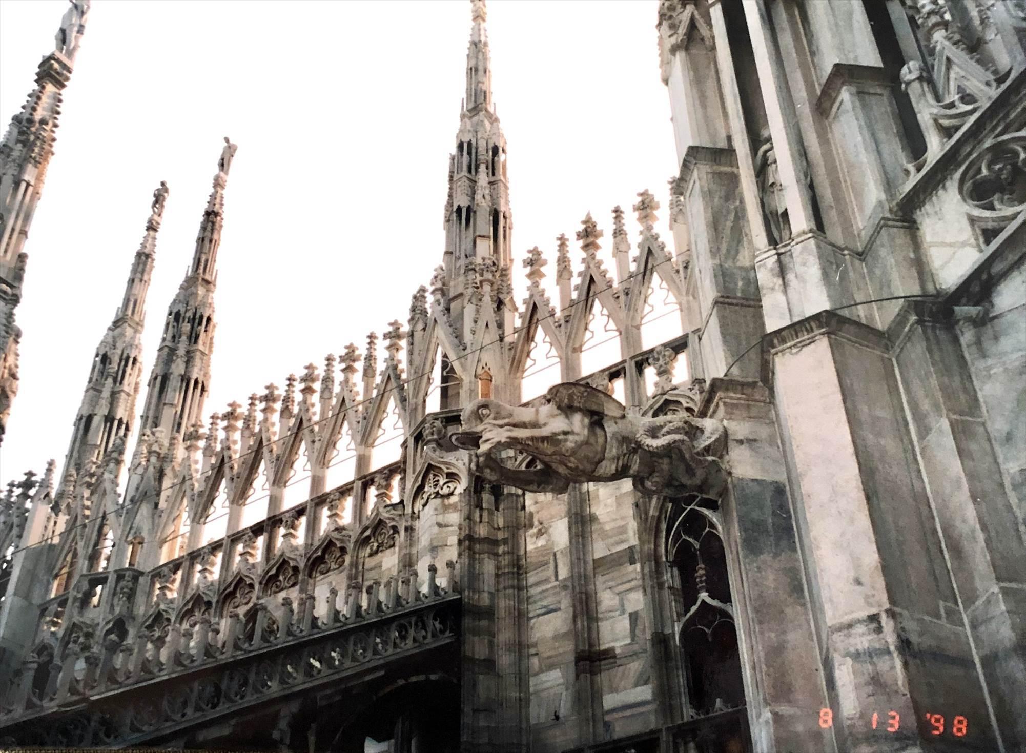 シチリア/ 45  荘厳なミラノ大聖堂 Ⅲ_a0092659_15425637.jpg
