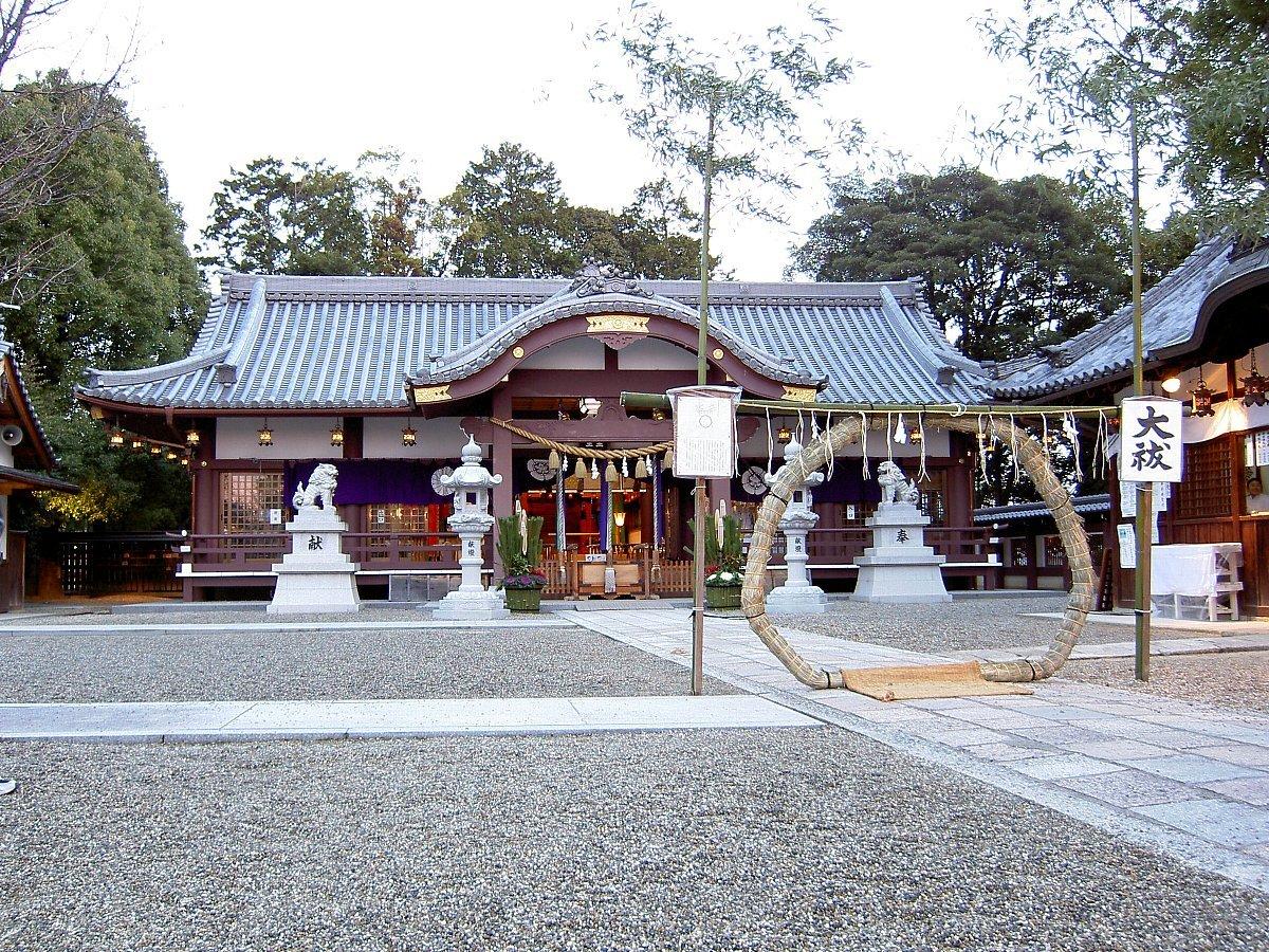 枚方市の神社 百濟王神社_c0112559_08191888.jpg