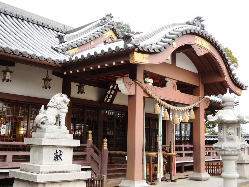 枚方市の神社 百濟王神社_c0112559_08200967.jpg