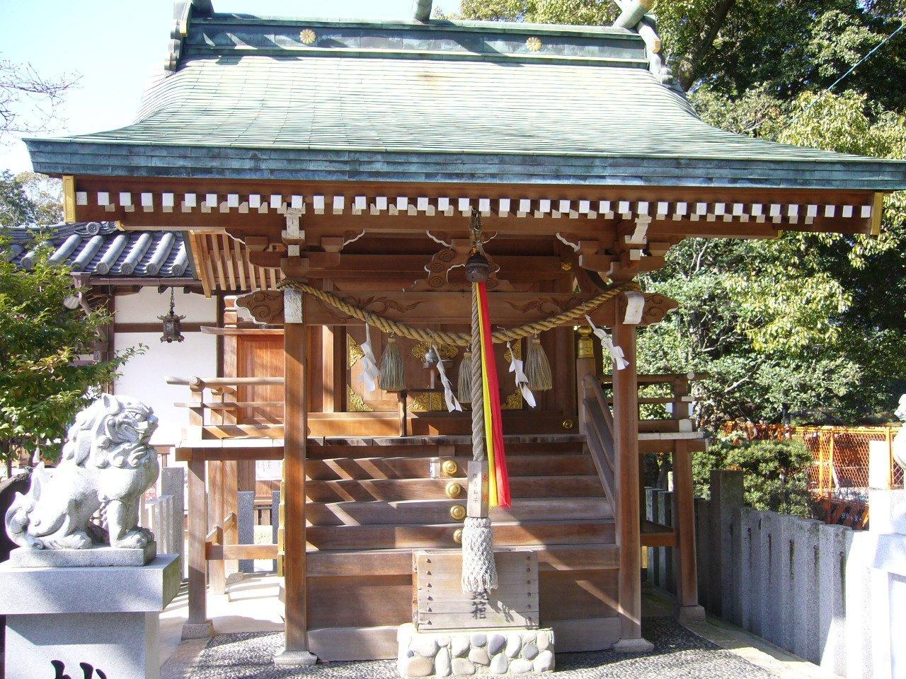 枚方市の神社 百濟王神社_c0112559_08294965.jpg