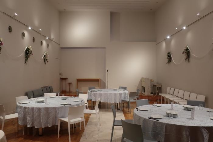 黒崎のレストラン リンドマール様 パーティースペース増設工事_c0131666_18155847.jpg