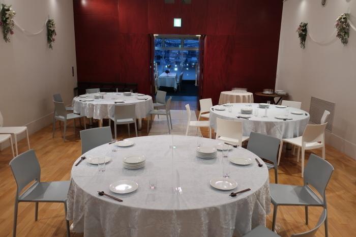 黒崎のレストラン リンドマール様 パーティースペース増設工事_c0131666_18160585.jpg