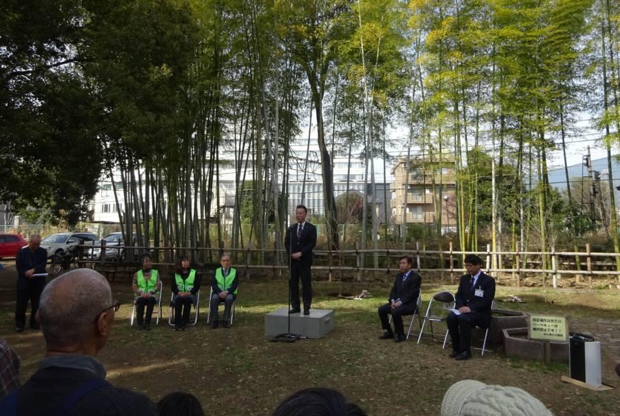 小平市緑と花いっぱい運動の会50周年記念植樹_f0059673_21195204.jpg