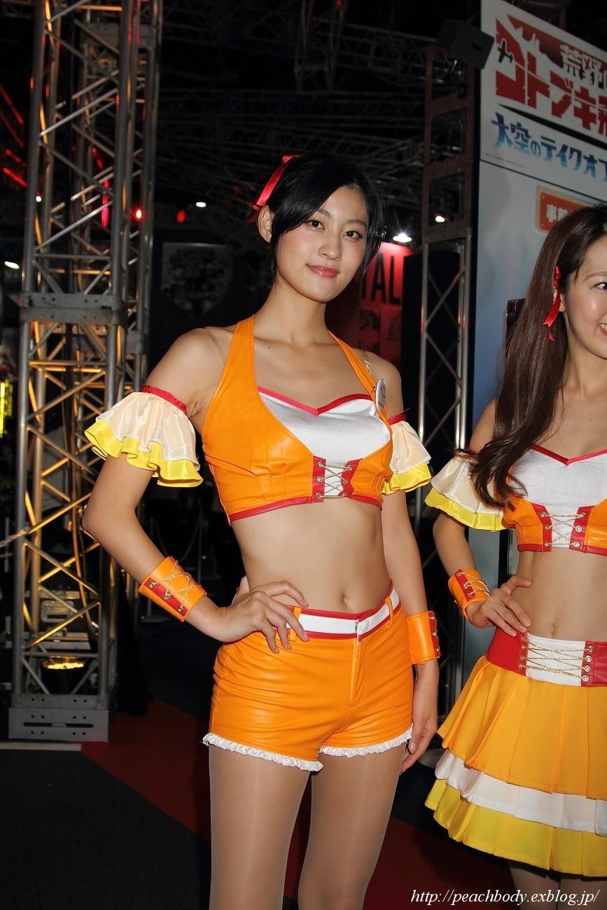 日吉晶羅 さん(バンダイナムコエンターテインメント ブース)_c0215885_22204649.jpg