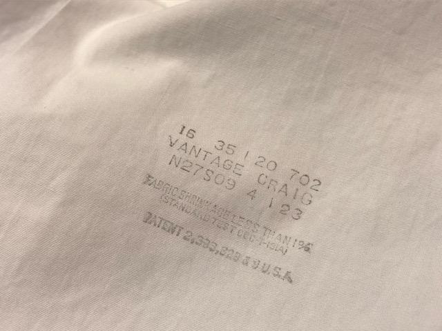 3月23日(土)マグネッツ大阪店、春スーペリア入荷!!#5 Shirt編! Excello & VAN HEUSEN、BROOKS BROTHERS!!(大阪アメ村店)_c0078587_20183095.jpg