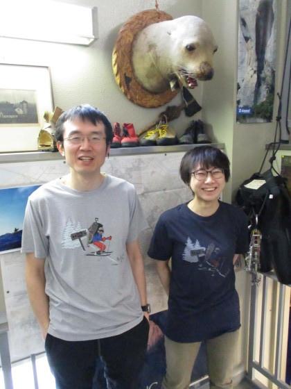 Teton Bros.×秀岳荘 コラボTシャツ発売!!_d0198793_09250015.jpg