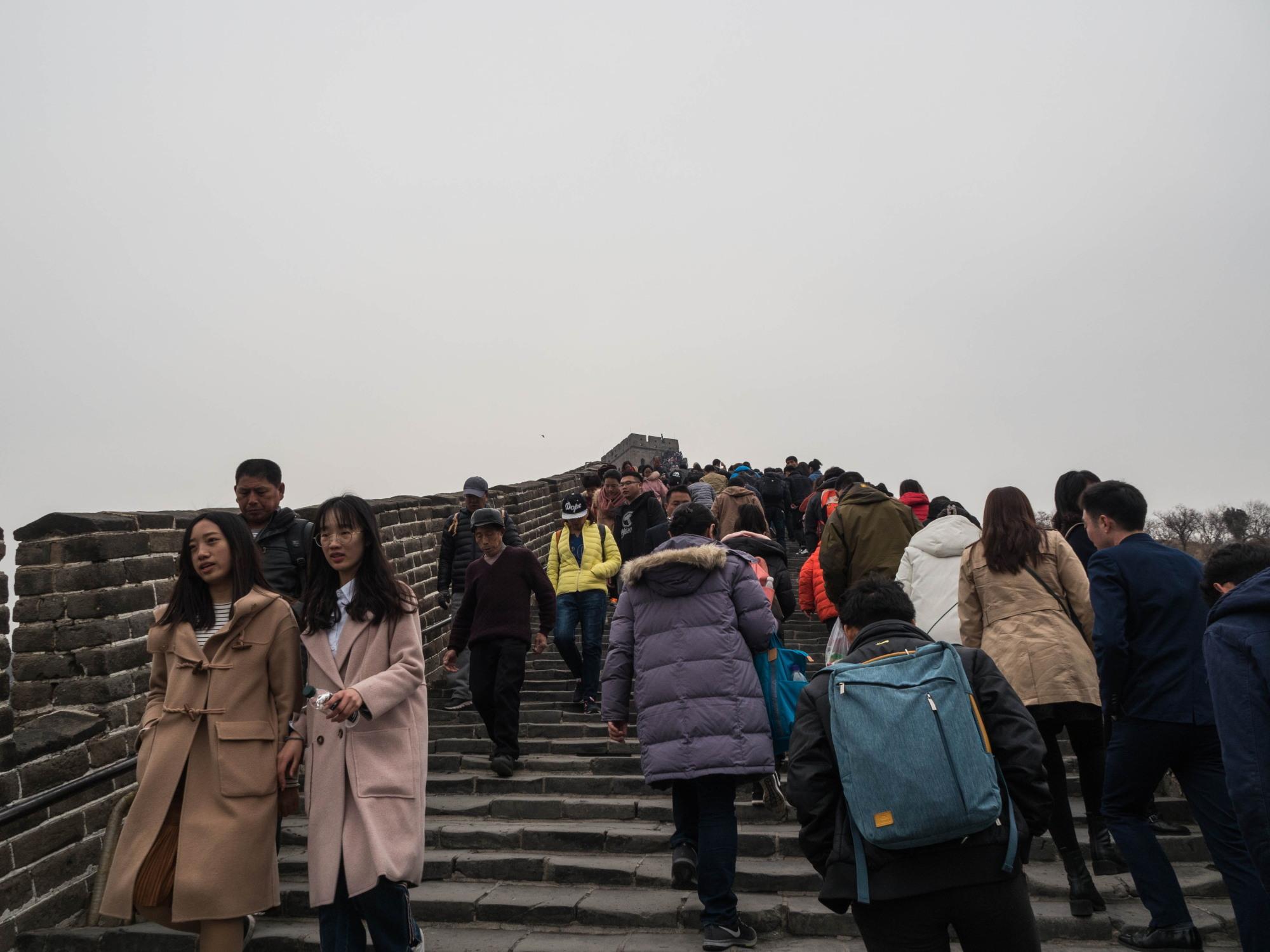 2019北京・万里の長城vol.4~超有名観光地・万里の長城へ行く~_f0276498_17120319.jpg