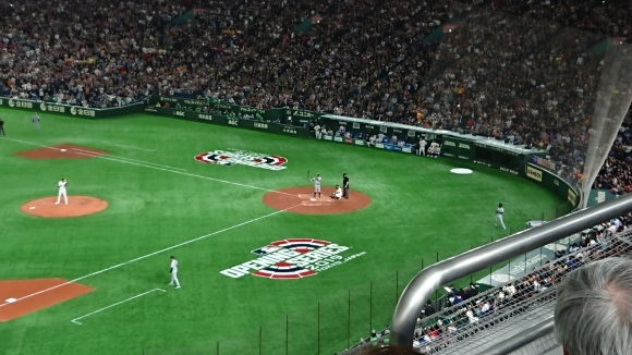 2019MLB開幕戦第2戦 オークランド・アスレチックス vs シアトル・マリナーズ @東京ドーム_b0042308_12060346.jpg
