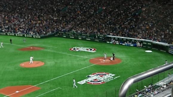 2019MLB開幕戦第2戦 オークランド・アスレチックス vs シアトル・マリナーズ @東京ドーム_b0042308_12082170.jpg